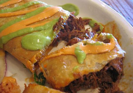 Mexican Restaurant, Chimichanga