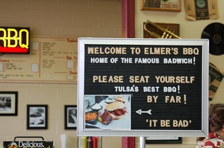 Elmer's BBQ, Tulsa, OK