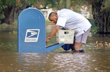 post office, mailman