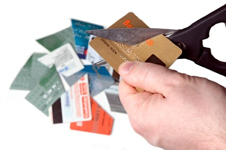 managing debt, give up credit cards