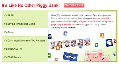 SmartyPig savings account