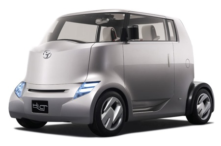 Toyota small hybrid car Hi CT Concept